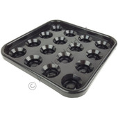 "Pool/Snooker Ball Tray For 2"" Or 2-1/4"" Balls"