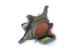 Fishpond Savage Creek Chest Pack open at Upcountry Sportfishing