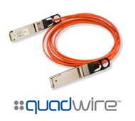 Finisar Quadwire FCBN414QB1C20 20m 56G QDR QSFP+ Active Optical Cable