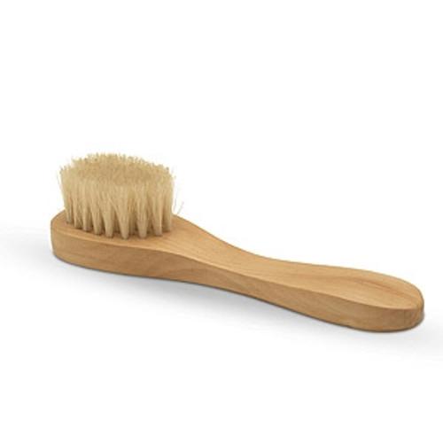 Wooden Face Brush. Natural bristles.