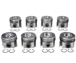 "MAHLE PISTON SET +.040"" SIZE (SET OF 8) (04-06 POWERSTROKE 6.0L)"