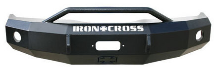 IRON CROSS 22-615-97 FRONT PUSH BAR BUMPER (97-02 2500 / 3500)