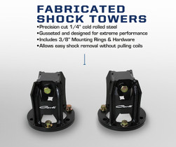 CARLI SUSPENSION STANDARD Fabricated Shock Tower (94-12 RAM)