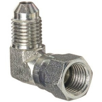 CPP,  -4F90 -4 JIC TO 90 DEGREE NPT FITTING