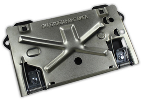 IRON CROSS FLIP DOWN LICENSE PLATE (20 SERIES BUMPERS)