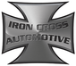 "IRON CROSS 3"" Tube Step Black Powdercoat, Cab Length (15 GM)"