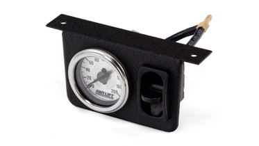 AIR LIFT PERFORMANCE SINGLE NEEDLE GAUGE PANEL W/ONE PADDLE SWITCH -200 PSI