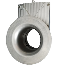 "STAINLESS DIESEL 5.50"" GUILLOTINE SHUT-OFF (UNIVERSAL)"