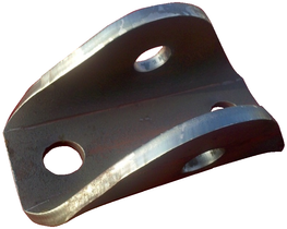CPP, UBRACKET FRAME MOUNT TRACTION BAR (BOLT ON)