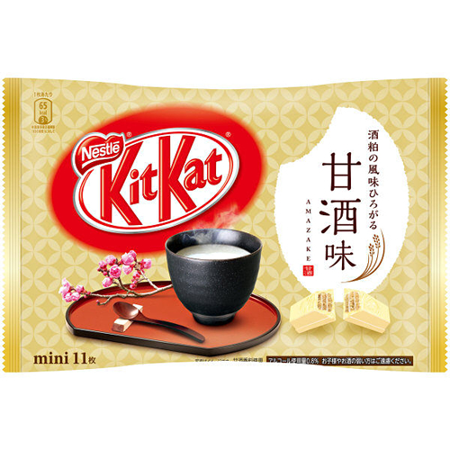 KitKat mini Amazake sweet sake flavor 11 pieces