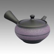Tokoname Kyusu teapot - UKO - Middle belt 360cc/ml - obi ami stainless steel net - Item Image