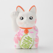 Sakura Manekineko - D - Right hand up - Lucky cat (Welcome cat)