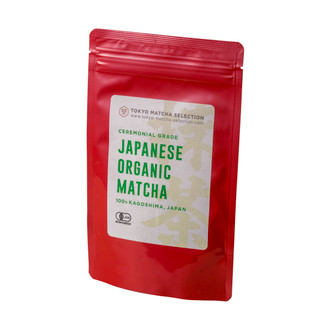 [Ceremonial grade] Japanese Organic Matcha Green Tea Powder 50g (1.76oz) - Certified Organic by JAS - Best For Weight Loss, Vegan Friendly & Healthy Living - package