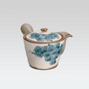 Arita-yaki Kyusu teapot - Grape - 280cc/ml