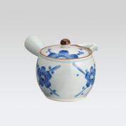 Arita-yaki Kyusu teapot - Plum - 400cc/ml