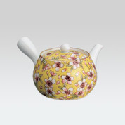 Arita-yaki Kyusu teapot - Sakura romantic - 400cc/ml