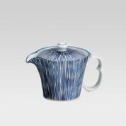 Arita-yaki teapot - Blue stripe - 300cc/ml