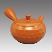 Tokoname Kyusu teapot - JINSUI - Diamond cut 290cc/ml - Refresh stainless steel net - Item Image
