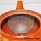 Tokoname Kyusu teapot - ISSIN - Black Iraq glaze 360cc/ml - Refresh stainless steel net - Refresh stainless steel net