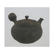 Japanese Pottery Ceramic Kyusu tea pot : SYUKEI - 200cc Ceramic mesh net