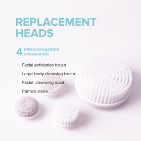 Radiance Spin-Care System  - Replacement Heads Set