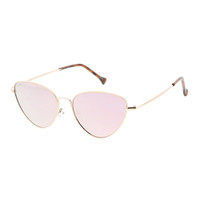 emma cat eye-gold/rose gold mirror