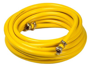 25mm x 10m Flexible Rubber Hose With Claw Fittings