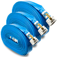 50mm x 10m Layflat Hose With Camlocks