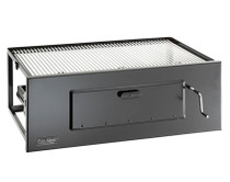 Fire Magic charcoal lift a fire grill large