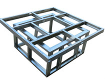 "48"" x 48"" DIY BBQ Fire Pit Frame Kit"