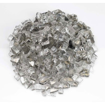 "American Fireglass 1/2"" Starfire Reflective Fire Glass 10lbs"