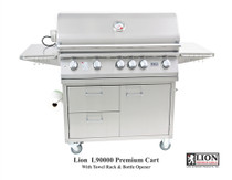 Lion 40-Inch Stainless Steel Cart Grill
