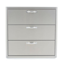 Blaze 30 Inch Triple Access Drawer