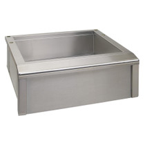 Alfresco 30 Inch Main Sink with Cutting Board-AGBC-30