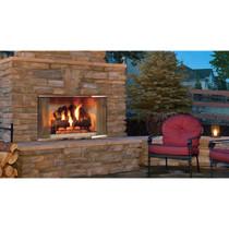 Majestic Montana Radiant Outdoor Wood Burning Fireplace - 42 Inch