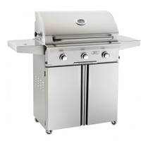 AOG 30-Inch L-Series 3-Burner Freestanding Gas Grill with Rotisserie