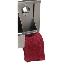 Alfresco Bottle Opener With Towel Bar For AGBC-30