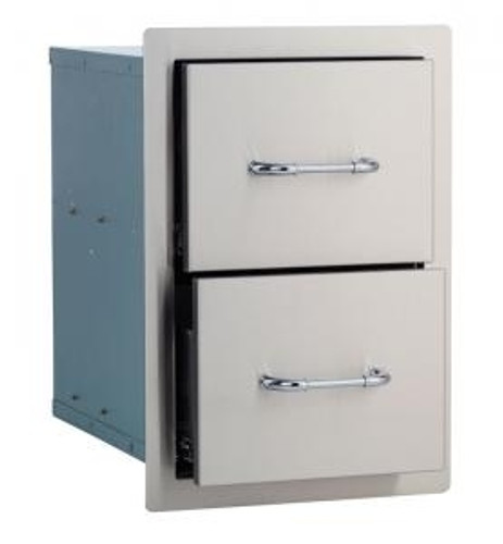 Bull BBQ Double Drawer