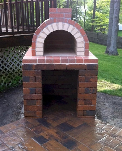 Home Wood Oven ~ Do it yourself foam pizza oven form