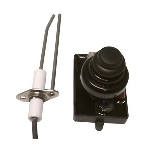 American Fireglass Push Button Ignition