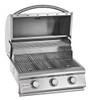 Blaze 3 burner grill open hood
