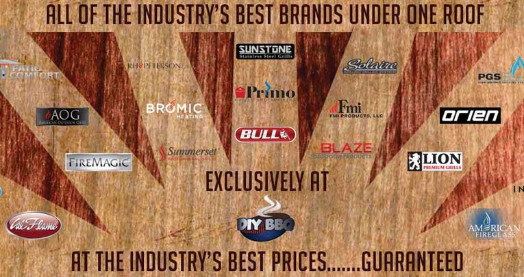 Top Brands at DIY BBQ