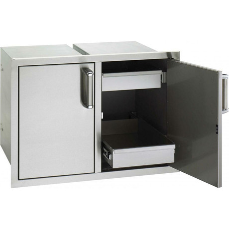 Fire Magic 20 X 30 Double Access Doors With Dual Drawers
