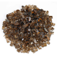 "American Fireglass 1/2"" Copper Reflective Fire Glass 10lbs"