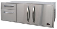 "Cal Flame BBQ07909 52.5"" Built-In Complete Enclosed Cabinet"