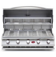 Cal Flame G5 grill hood open