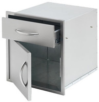 "Cal Flame 18"" Door & Drawer Combo"