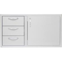 Blaze 39 Inch Access Door & Triple Drawer Combo
