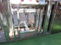 """DIY BBQ Single Door Cut Out Kit Vertical Up To 27"""""""