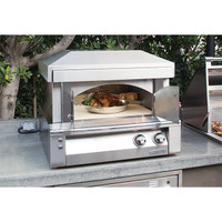 "Alfresco 30"" Pizza Oven for Countertop Mounting"